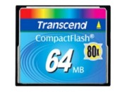 Transcend TS64MCF80 Industrial Compact Flash 80x